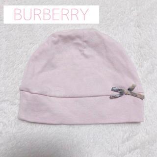 バーバリー(BURBERRY)のバーバリーベビー帽(帽子)