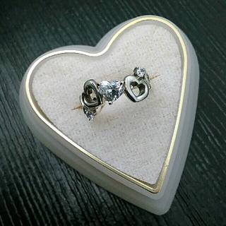 ヨンドシー(4℃)の4℃リング  ハート ダイヤ 《 正規品 》               超美品(リング(指輪))