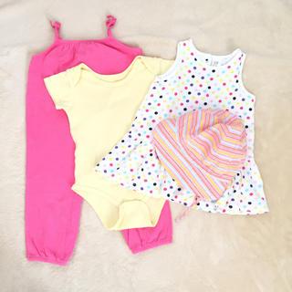 ベビーギャップ(babyGAP)のベビー服 まとめ売り サイズ70(ロンパース)