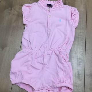 ラルフローレン(Ralph Lauren)のラルフローレン ロンパース ピンク 女の子(その他)