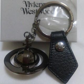 ヴィヴィアンウエストウッド(Vivienne Westwood)の♡Vivienne Westwood♡ キーリング BLACK  新品箱付き (キーホルダー)