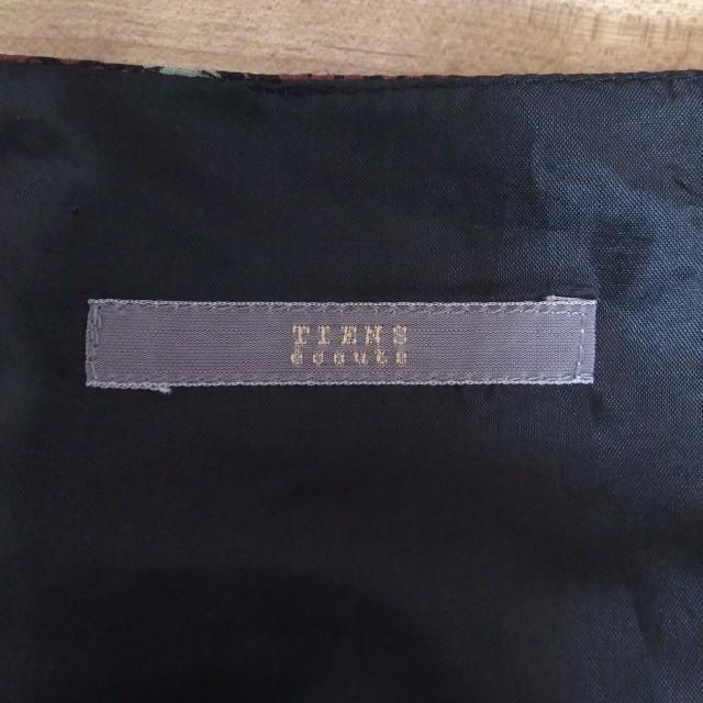 TIENS ecoute(ティアンエクート)のTIENS ecoute ティアンエクート  ワンピース レディースのワンピース(ひざ丈ワンピース)の商品写真
