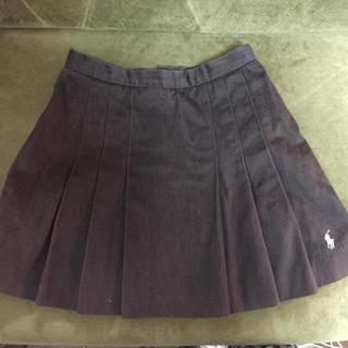 ラルフローレン(Ralph Lauren)のラルフローレン スカート こげ茶(ミニスカート)