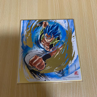 ドラゴンボール(ドラゴンボール)のドラゴンボール色紙art7 ゴジータブルー 箔押し(キャラクターグッズ)
