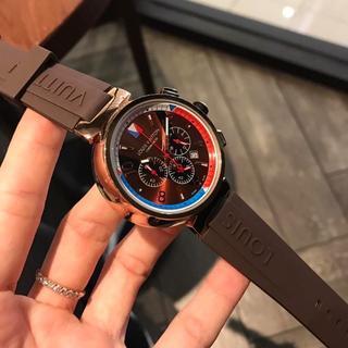 LOUIS VUITTON - 未使用 LOUIS VUITTON ヴィトン 腕時計 保存箱付き クォーツ