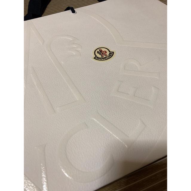 MONCLER(モンクレール)のモンクレール 紙袋 レディースのバッグ(ショップ袋)の商品写真