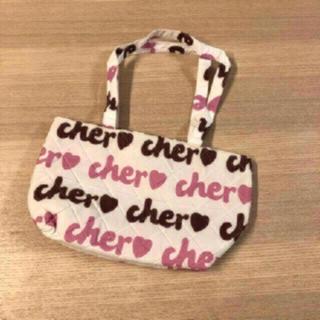 Cher - 34・【美品】cher♡トートバッグ