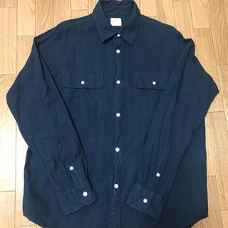 coen - 美品 コーエン メンズ 綿麻 シャツ