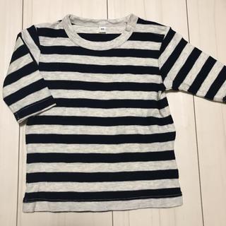 ムジルシリョウヒン(MUJI (無印良品))の無印良品 ボーダー カットソー ロンT(Tシャツ)