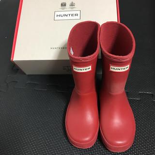 HUNTER - kids 長靴 レインブーツ ハンター