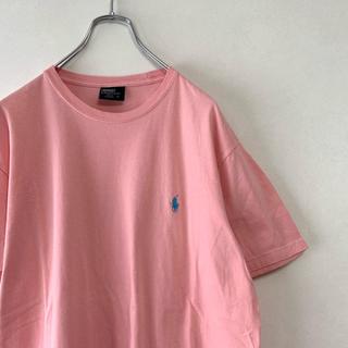 ラルフローレン(Ralph Lauren)の90年代 Polo Ralph Lauren ロゴ Tシャツ ピンク(Tシャツ/カットソー(半袖/袖なし))