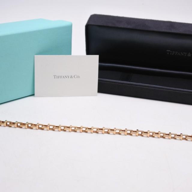 Tiffany & Co.(ティファニー)のティファニー Tナロー ブレスレット 750 ピンクゴールド PG 2019XL メンズのアクセサリー(ブレスレット)の商品写真