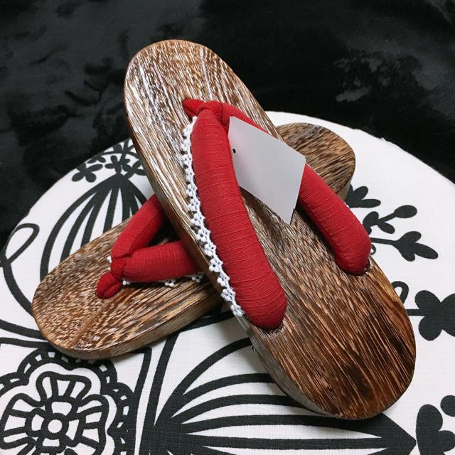 しまむら(シマムラ)の下駄 新品 レディースの靴/シューズ(下駄/草履)の商品写真