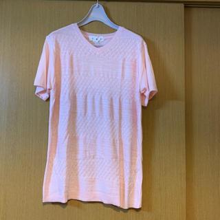 しまむら - 新品 しまむら メンズ 紳士 テレコ ボーダー ニット Tシャツ LL サマー