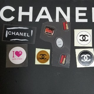 シャネル(CHANEL)のシャネルシール色々6片セット(シール)