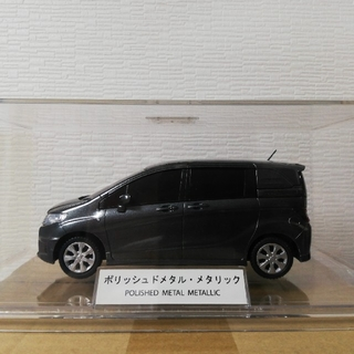 ホンダ(ホンダ)の非売品 ホンダ フリードスパイク カラーサンプル ポリッシュドメタル・メタリック(ミニカー)