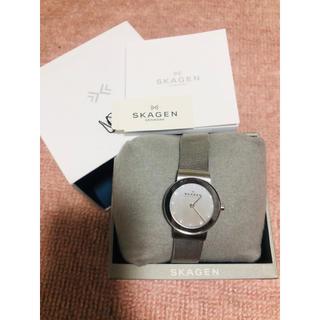 スカーゲン(SKAGEN)のSKAGEN シルバー 腕時計 レディース(腕時計)