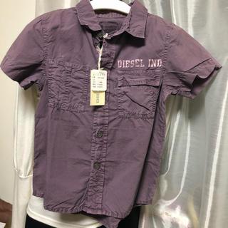 ディーゼル(DIESEL)のタグ付き新品ディーゼルキッズ シャツ(Tシャツ/カットソー)