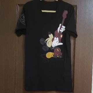ロエン(Roen)の【S】ロエン ディズニー コラボ ミッキー 赤ギター(Tシャツ(半袖/袖なし))