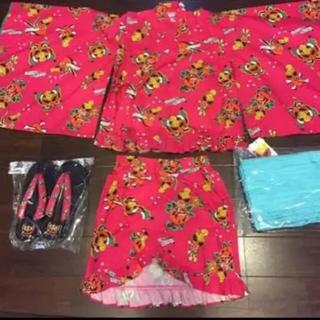 ヒステリックミニ(HYSTERIC MINI)の新品 ヒスミニ   正規品 浴衣(甚平/浴衣)