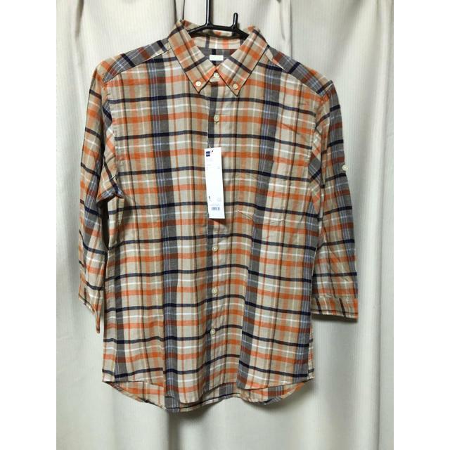 GU(ジーユー)のジーユー  シャツ  麻混  リネン メンズのトップス(シャツ)の商品写真