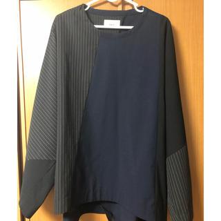 ハレ(HARE)のLui's ストライプ切替布帛プルオーバー(Tシャツ/カットソー(七分/長袖))