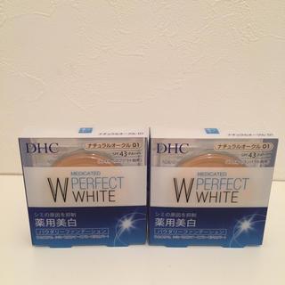 ディーエイチシー(DHC)のDHC 薬用パウダリーファンデ01 2個セット(ファンデーション)