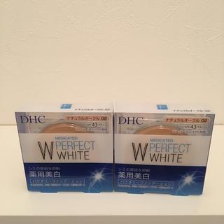 ディーエイチシー(DHC)のDHC薬用PWパウダリーファンデ02 2個セット(ファンデーション)