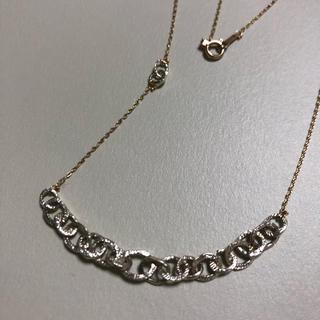 カオル(KAORU)のKAORU アトリエカオル K10 グリーンゴールド チェインズ ネックレス(ネックレス)