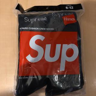 シュプリーム(Supreme)のシュプリーム  ソックス 1ペア 新品未使用(ソックス)