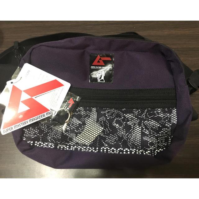 しまむら(シマムラ)の【新品未使用】しまむら 月刊ムー コラボ ショルダーバッグ メンズのバッグ(ショルダーバッグ)の商品写真