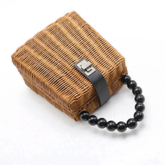 ZARA(ザラ)のかごバッグ レディースのバッグ(かごバッグ/ストローバッグ)の商品写真