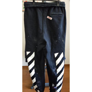 オフホワイト(OFF-WHITE)のOff-White galaxy brushed sweatpants(その他)