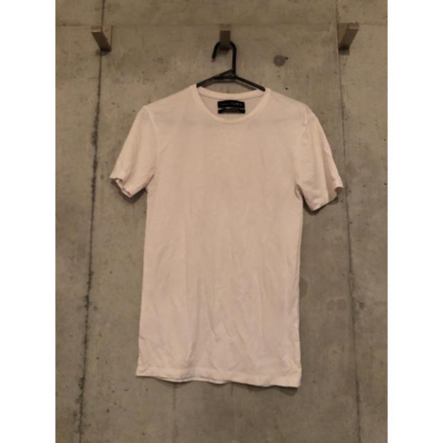 ZARA(ザラ)のメンズファッション/Tシャツ 夏 ホワイト 白 メンズのトップス(Tシャツ/カットソー(半袖/袖なし))の商品写真
