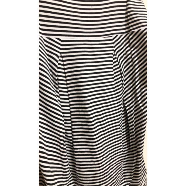 adidas(アディダス)のアディダス オーバーサイズ ボーダーTシャツ レディースのトップス(Tシャツ(半袖/袖なし))の商品写真