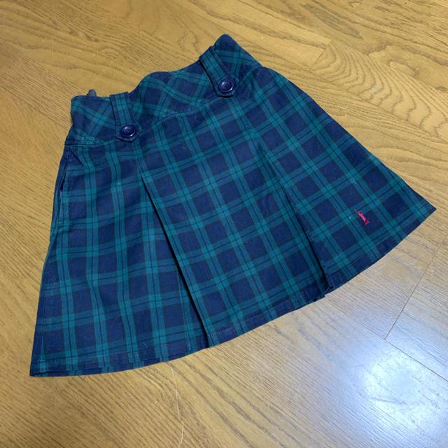 EASTBOY(イーストボーイ)のイーストボーイ チェック スカート キッズ/ベビー/マタニティのキッズ服 女の子用(90cm~)(スカート)の商品写真