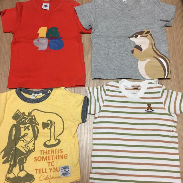 MARKEY'S(マーキーズ)の夏服まとめ売り キッズ/ベビー/マタニティのベビー服(~85cm)(Tシャツ)の商品写真