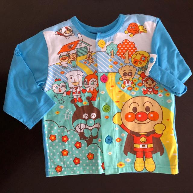 新品 アンパンマン パジャマ 90 キッズ/ベビー/マタニティのキッズ服 男の子用(90cm~)(パジャマ)の商品写真