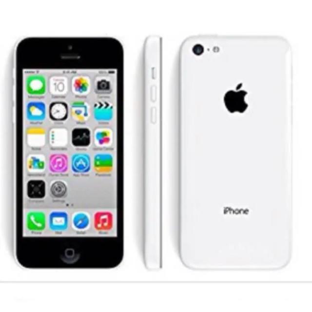 Apple(アップル)のiPhone5c 本体 ホワイト 16GB スマホ/家電/カメラのスマートフォン/携帯電話(スマートフォン本体)の商品写真