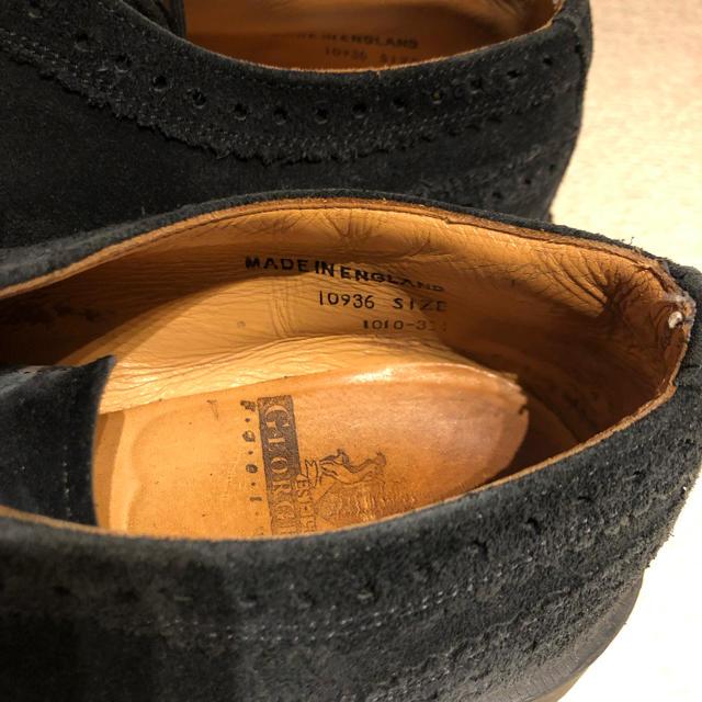 GEORGE COX(ジョージコックス)のジョージコックス スウェードシューズ uk7.5 メンズの靴/シューズ(ブーツ)の商品写真