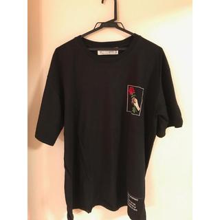 ヴァンキッシュ(VANQUISH)のLEGENDA Tシャツ バラ柄(Tシャツ/カットソー(半袖/袖なし))