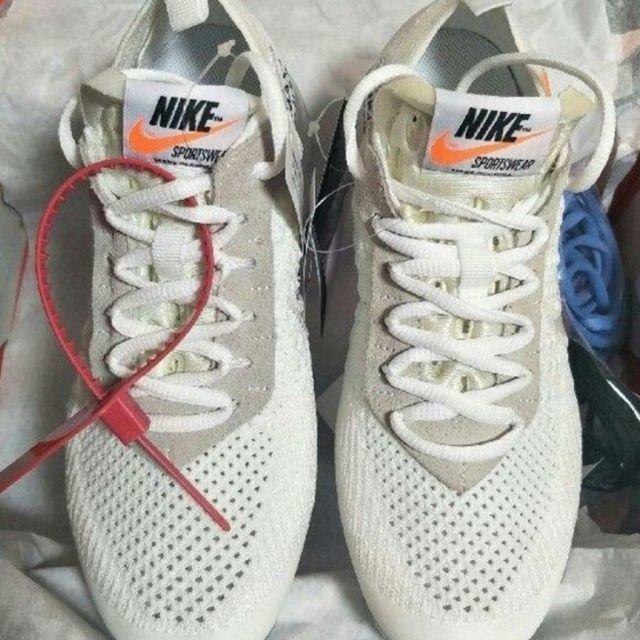 OFF-WHITE(オフホワイト)の25cm THE 10 NIKE VAPOR MAX FK ベイ メンズの靴/シューズ(スニーカー)の商品写真