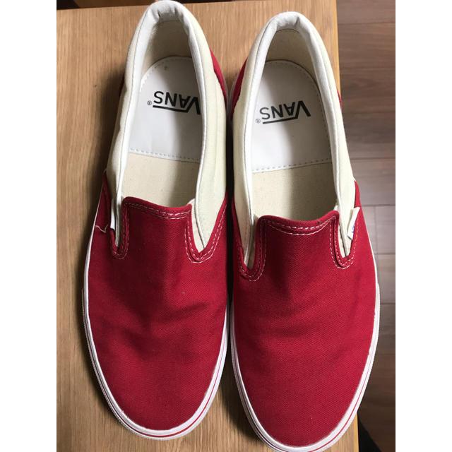 VANS(ヴァンズ)のVANS スリッポン 28.5cm チェッカーフラック メンズの靴/シューズ(スニーカー)の商品写真