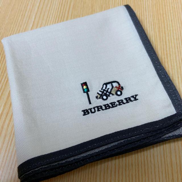 BURBERRY(バーバリー)の未使用 バーバリー 大判ハンカチ メンズのファッション小物(ハンカチ/ポケットチーフ)の商品写真
