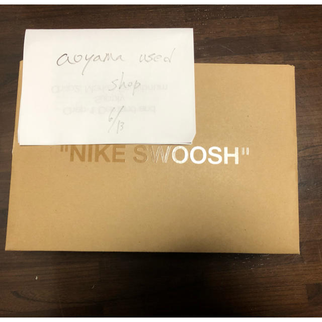 NIKE(ナイキ)のNIKE AIR FORCE 1 OFF WHITE  メンズの靴/シューズ(スニーカー)の商品写真