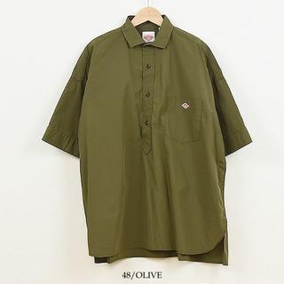 ダントン(DANTON)の新品*DANTONプルオーバーシャツ*今季(シャツ/ブラウス(半袖/袖なし))