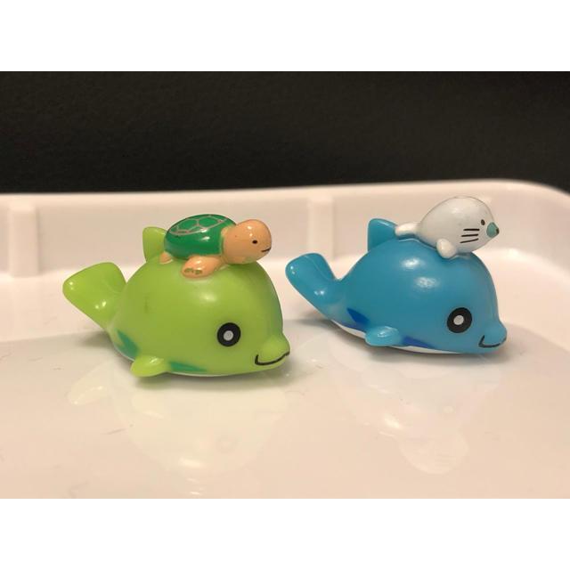 入浴剤 バスボール  ラッキードルフィン 2個セット エンタメ/ホビーのおもちゃ/ぬいぐるみ(キャラクターグッズ)の商品写真