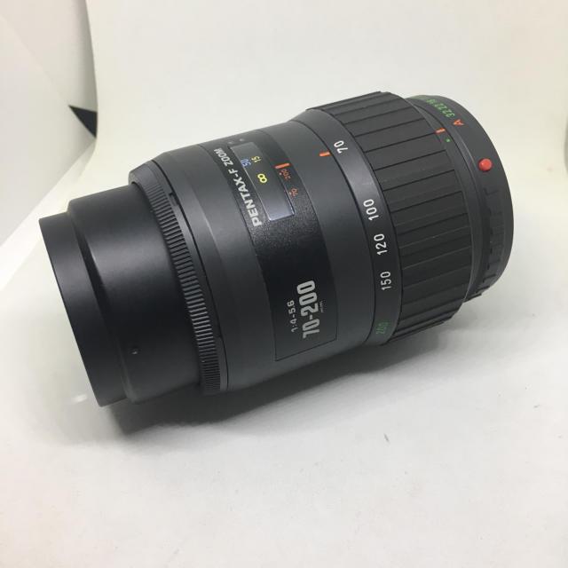 PENTAX(ペンタックス)のPENTAX F ZOOM 70-200 F4-5.6です(・∀・)① スマホ/家電/カメラのカメラ(レンズ(ズーム))の商品写真