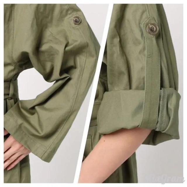 SLY(スライ)のSLY 刺繍 コート レディースのジャケット/アウター(ロングコート)の商品写真