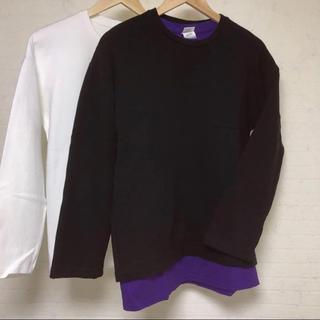 ハレ(HARE)の美品 ロングスリーブ  Tシャツ 2枚セット(Tシャツ/カットソー(七分/長袖))